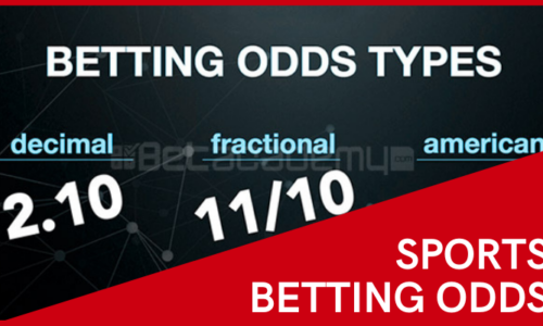 Some words about sports betting odds