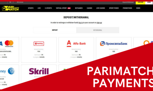 Payment Methods Available at Parimatch
